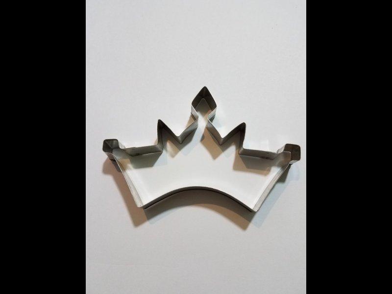 Corona de tres puntas grande - 7 x 12 cm.